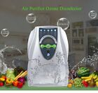 Ozone Generator Purifier Air Water Sterilizer Vegetable Fruit Ozonator US Plug