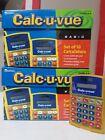 Calc-U-Vue LER-0059 18 Basic Calculators 9 per box