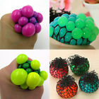 ES_ Anti Stress Face Reliever Grape Ball Autism Mood Squeeze Relief ADHD Toy New