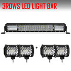 """NEW 22Inch 480W Amber/White Led Work Light Bar Driving Offroad Strobe Lamps 20"""""""