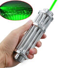 High Power Military Laser Pointer Pen Green 532nm Military Zoomable Burn Beam w0