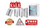 Apple Silver | iPad 2,3,4 | Air | Mini 16GB-32GB-64GB-128GB Wi-Fi + Cellular