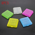 4Pcs Storage Box Holder Rechargeable Cover Hard Plastic Case For AA AAA Battery
