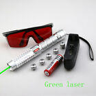 GP9 Adjustable focus 532nm Green Laser Pointer & Battery&Charger&Goggles