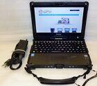 Getac V110 Rugged Laptop TouchScreen i5 1.9GHz 4GB 128GB SSD Linux webcam HDMI