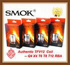 Authentic SMOK TFV12 Coil V12-Q4/X4/T6/T12/RBA for TFV12 Cloud Beast King Tank @