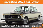 1976 BMW 2002  RESTORED 1976 BMW 2002 4 SPEED SUPER CLEAN MUST SEE NATIONWIDE SHIPPING