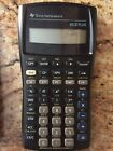 Texas Instruments BA II PLUS and Case - Solar Powered