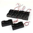 2 x3.7V  Black  Box  Battery  Case  6 Pcs  Holder  Type  18650  Plastic