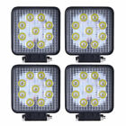 4x Cree 27W 12V 24V LED Work Light FLOOD Lamp Tractor Truck SUV Off-road VS 48W