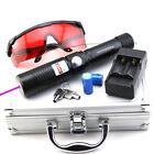VW1 405nm Blue-Violet Laser Pointer Adjustable Focus Light Cigarettes Burn