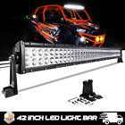 "40""42""Led Light Bar For Can-Am Maverick 1000R POLARIS General UTV Roof Roll Cage"