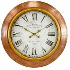 Aspire Home Accents Elise 31 in. Wall Clock, Copper