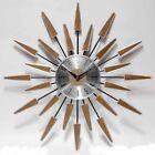 Infinity Instruments Satellite 23W x 23H in. Wall Clock, Wood Grain