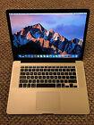 Apple RETINA Macbook Pro 15in 2015 AMD, low cycles, new screen!