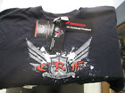 HONDA CF ROOST 2XL BLACK T-SHIRT