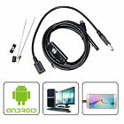 3.5M 5.5mm Waterproof Endoscope Mini HD Camera Lens Cable 6 LED for Android PC
