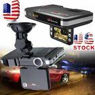 2 In 1 HD Car Camera DVR Dash Cam Recorder +Radar Laser Speed Detector Alert MAX
