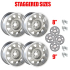 YearOne Mopar Rallye wheel kit with light argent center caps and lug nuts.I...