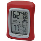 AcuRite Digital 2.5 inches Indoor Tabletop or Wall Red Plastic Thermometer