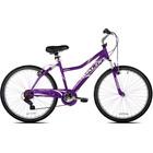 "NEXT Avalon 26"" Comfort Bike Full Suspension Womens Dual suspension steel Purple"