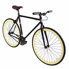 Zycle Fix Bicycle Robin Fixie Bike Heritage Series Fixed Gear Bike 59