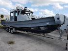 2012 33FT Defender Aluminum Safe Boat