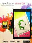 """NEXTBOOK NX16A8116K Ares 8A with WiFi 8"""" Touchscreen Tablet PC Black"""