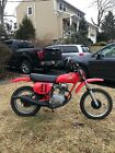 1978 Honda XR  1978 Honda Xr 75 Original Survivor