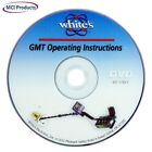 Whites Electronics GMT Metal Detector Instructional How-To DVD 601-1193-1