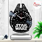Star Wars Ship Millennium Falcon Han Solo Vinyl Record Wall Clock Christmas Gift