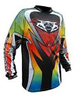 Adults Quad MX Motocross Wulfsport Wulf 2017 Top Race Shirt ATTACK Multi T