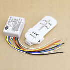 220V 3 Ways Wireless ON/OFF Lamp Remote Control Switch Receiver Transmitter New