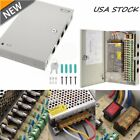 18CH Ports DC 12V 10A Distribution Box Power Supply for CCTV Security Camera MX