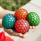 1Pcs*Anti Stress Face Reliever Squishy Mesh Ball Grape Healthy Toy Gifts