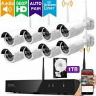 [Audio & Video] xmartO 8 Channel 960p HD Wireless Security Camera System with 8