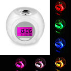 Modern Wake Up Light For Kids Child Toddler Adults 7 Colors Changing Alarm Clock