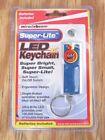 Miracle Beam Super-Lite LED Keychain Super Bright Super Small Super-Lite, Blue