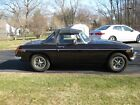 1977 MG MGB convertible 1977 MGB with chrome bumpers and grille