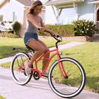 "Beach Cruiser Women's Bicycle One Speed Coaster Brakes 17-Inch Frame 26"" Wheels"
