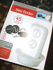 NEW Emerson Portable Electronic Key Finder ~ 45 ft Range 2 Fobs   Gift IDEA