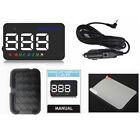 Hot Sale A5 GPS HUD Head Up Display Km/h MPH Digital Speedo Speed Warning Alarm