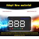 A5 Car HUD Head Up Display Km/h MPH Digital Speedo Speed Warning Alarm Charming