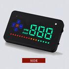 "A2 3.5"" Digital Car Auto Head Up Display Speed Warning HUD Projector Speedometer"