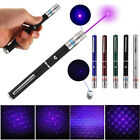 405nm 2 in 1 Purple Laser Pointer Pen Beam Light Star Cap Visible Projector