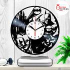 Batman Joker Arkham Origins DC Comics Vinyl Record Wall Clock Birthday Gift