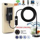 Wireless Waterproof Borescope Endoscope Inspection HD Camera For Smart Phones