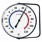 LaCrosse Technology 5 in. Thermometer, White
