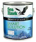 Sea Hawk Smart Solution (Gallon) Metal-Free Bottom Paint, Dark Blue