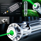 532nm Green Laser Pointer Powerful  Beam Lights Pen + 5 Star Caps